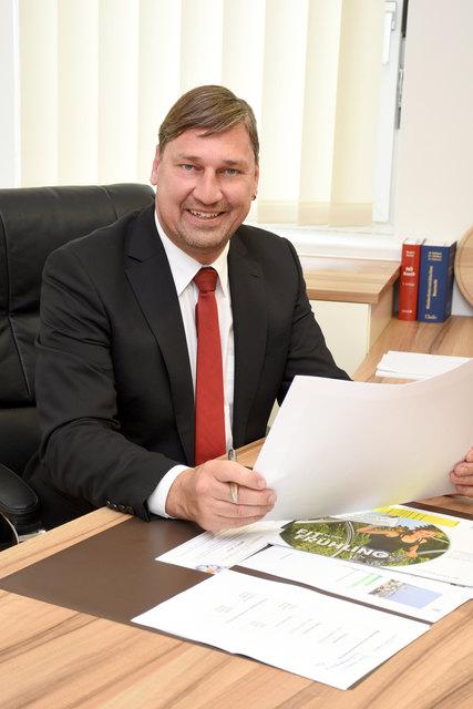 Lichtenwörths Bürgermeister Harald Richter.