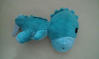 Diesen Dino hat der kleine Pascal am 12. August 2017 im Haidcenter verloren.