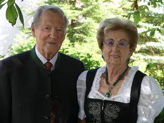 Alois und Ida Rechberger feierten ihre Diamantene Hochzeit im Familienkreis