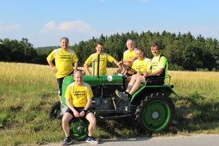 Edi Ponweiser, Jürgen Karner, Johannes Rennhofer, Thomas Korzil, Franz Ponweiser, Thomas Loser (v.l.n.r.).