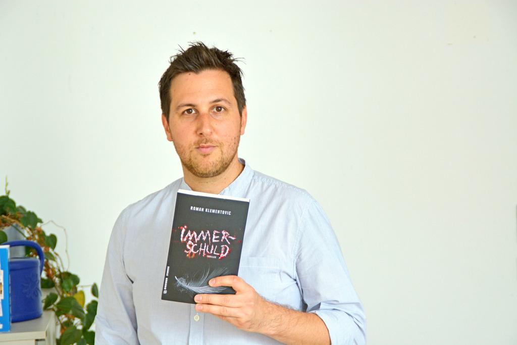 """Roman Klementovics neuer Roman """"Immerschuld"""" erscheint im September."""