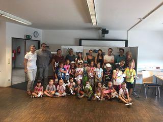 Zahlreiche Kinder besuchten das BFI-MAZ Großpetersdorf.