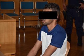 Vor Gericht tischte er eine andere Version auf: Der Marokkaner Abdel K.