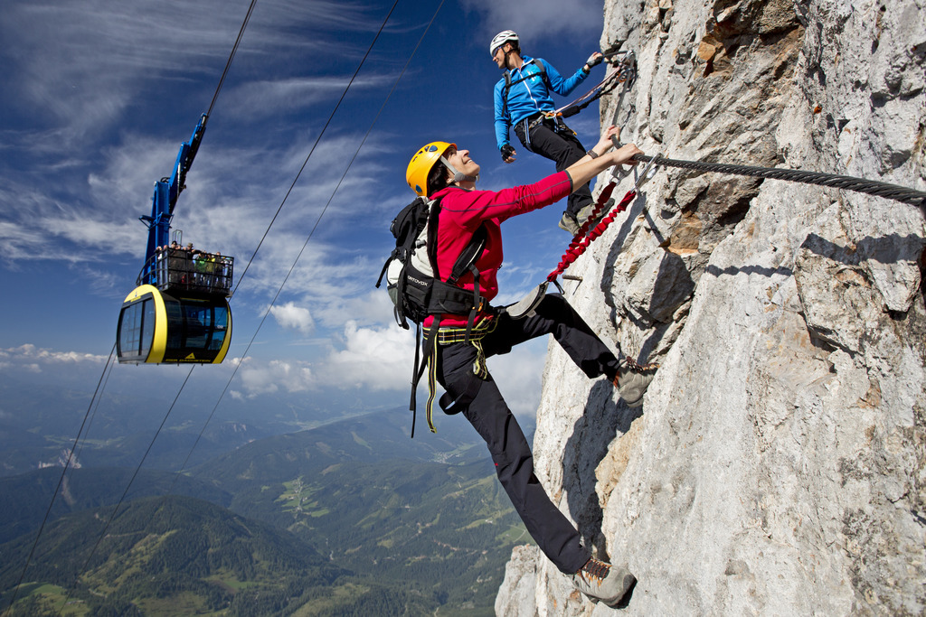 Klettersteig Deutschland : Bergsteigen berchtesgadener land deutschland rm video