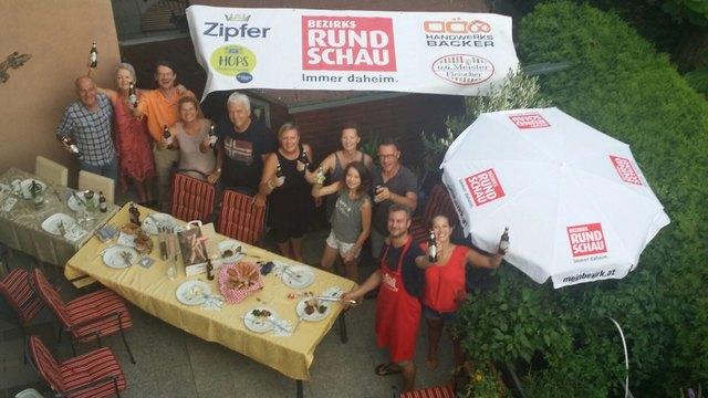 Die Nachbarn aus der Linzer Eichendorff-Siedlung haben eines von insgesamt 100 Nachbarschafts-Festen der BezirksRundschau in Oberösterreich gewonnen.