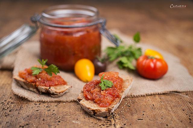 Köstlich: Apfel-Tomaten-Chutney