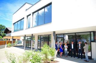 Der neue Kindergarten ist ein Meilenstein in der Kinderbetreuung in Axams und setzt tirolweit Maßstäbe.