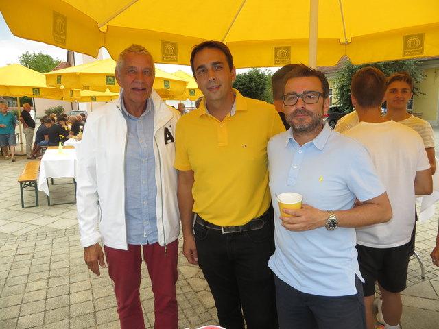 Ingo Marini, Manuel Weber und Christian Freismuth