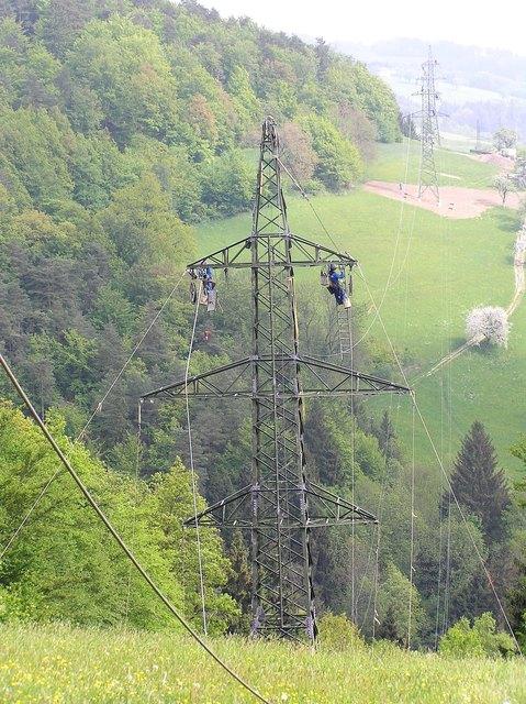 Die Energie AG arbeitet derzeit mit Hochdruck an der Wiederherstellung der Stromversorgung.