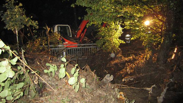 Der heftige Sturm sorgte für zahlreiche Einsätze wegen umgefallener Bäume