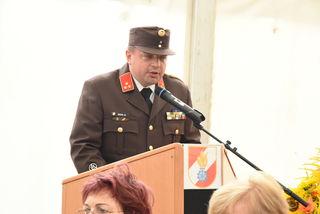 Ortsfeuerwehrkommandant HBI Gerald Seidl