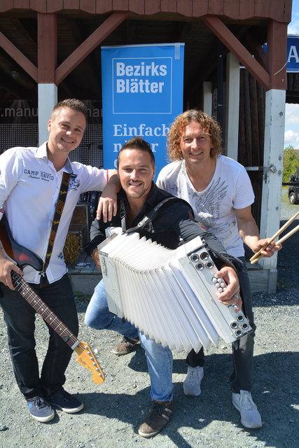 Manuel Eberhardt spielte diesmal wieder mit Band.