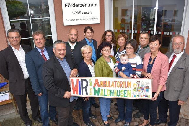 Wir für Ambulatorium Waldhausen.