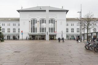 Salzburger Hauptbahnhof