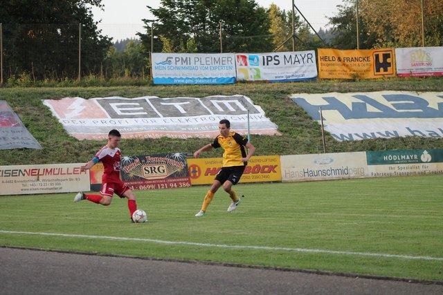 Union Perg 1b zeigte ein starkes Spiel. Trotzdem musste man sich zum Auftakt St. Pantaleon-Erla geschlagen geben.