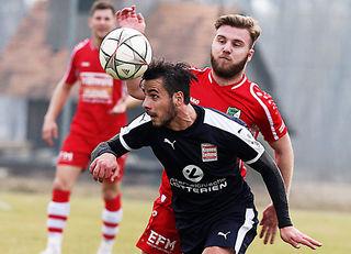 Zija Lleshi freut sich auf seinen Ex-Verein DSC, der im WOCHE Steirer-Cup nach Groß St. Florian muss.