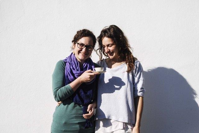 Michaela und Julia Wohlfahrt stecken hinter Café Namsa, welches Ende des Jahres in der Höttinger Au aufsperrt.