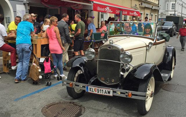 Kiau feierte ihren Geburtstag mit einem Sommerfest im Altstadt-Beisl