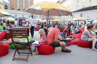 Lesespaß mitten in der Salzburger Altstadt
