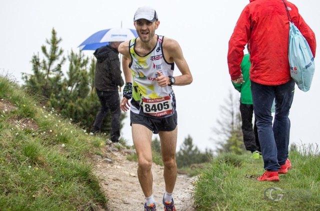 Lukas Gärtner vom LTV Köflach gewann den Lauf in Wald am Schoberpass.