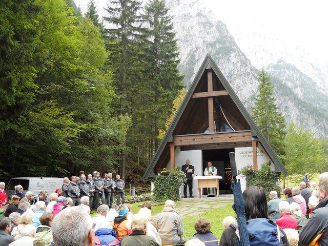 Am Sonntag, 3. September findet bei der Bergwachtkapelle im Kaiserbachtal um 12 Uhr die Gedenkfeier statt.