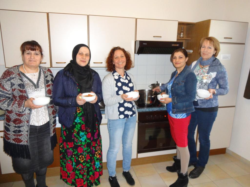 Mitglieder der Familie Hassan aus Pfarrkirchen.