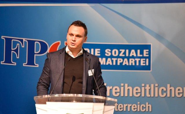FPÖ-Bezirksparteiobmann Andreas Bors