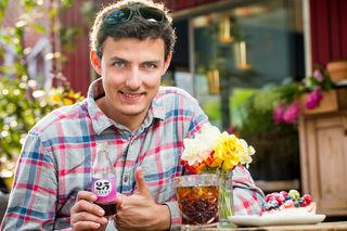 Unternehmer: Der 30-jährige Grazer Lukas Leitsberger