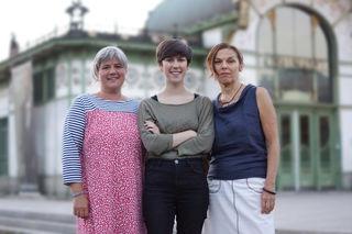 Melina Klaus, Flora Petrik und Sabine Fuchs kandidieren für KPÖ PLUS in Wien