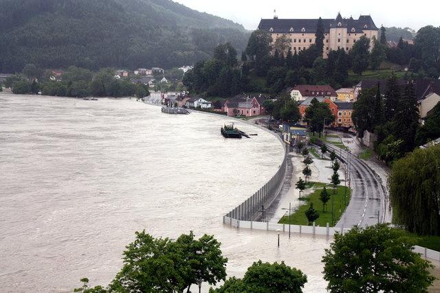 Grein Hochwasser 2013