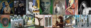 """Bei den """"Tagen der Kunst"""" in Götzens stellen heimische KünstlerInnen ihre Werke vor."""