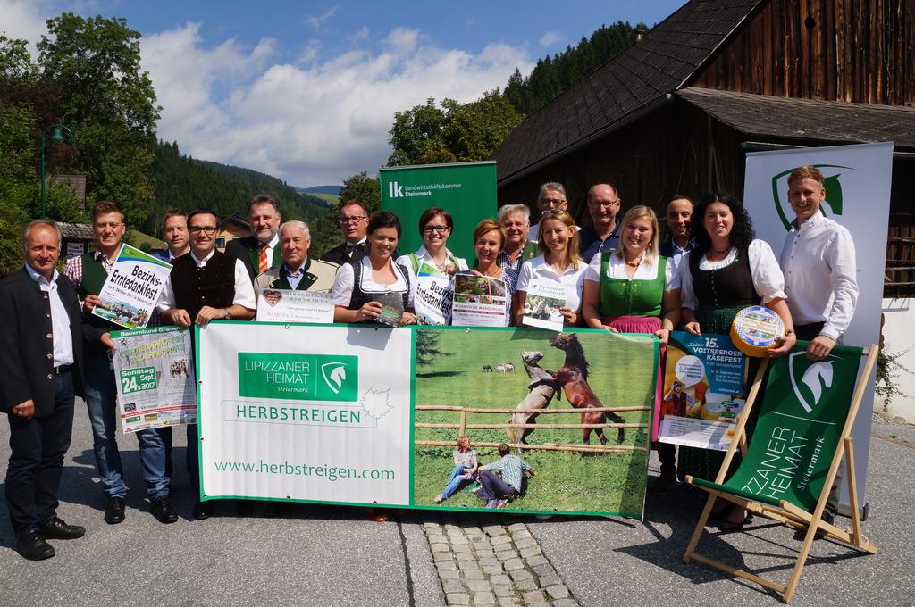 Die Organisatoren des Herbstreigens der Lipizzanerheimat präsentieren zwölf Höhepunkte.