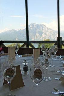 Hochzeitstafel im Gmundnerberghaus