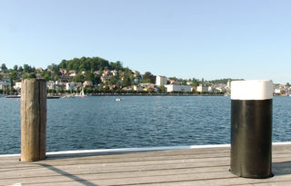 Schiffsanlegestelle Schloss Orth