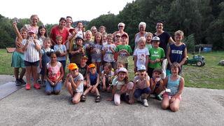 Die teilnehmenden Kinder hatten ihren Spaß.
