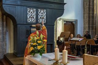 Die Orgel wurde im festlichen Rahmen eingeweiht.