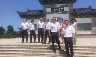 Eine Delegation aus dem Bezirk reiste nach Ost-China.