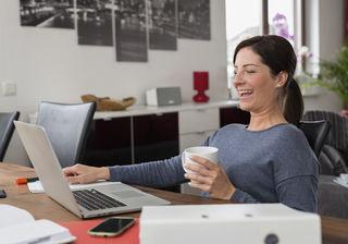 Bei Selbstständigen ist die Arbeitszufriedenheit laut Studien höher als bei Angestellten
