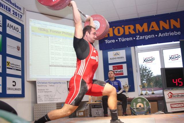 U23 EM Teilnehmer Philipp Forster
