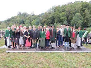 Zahlreiche Ehrengäste gaben sich beim Jubiläumsfest der Kaindorfer Musik ein stell dich ein.