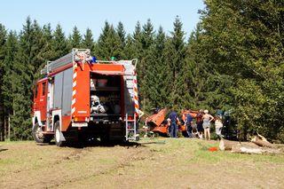 Rund 50 Feuerwehrler waren im Einsatz.