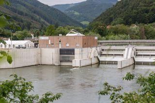 Ökostrom aus Frohnleiten: Zwischen 2013 und 2015 wurden 42,5 Millionen Euro in das Wasserkraftwerk investiert.
