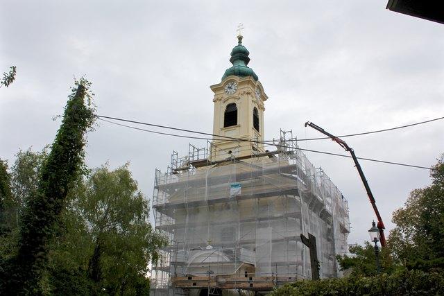 Schon Anfang Oktober soll das barocke Baujuwel in neuem Glanz erstrahlen.