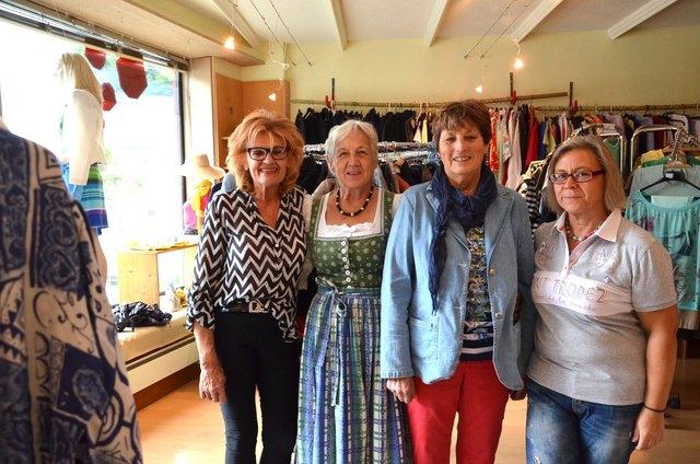 Initiatorin Johanna Kulterer (2.v.li.) mit Marlies Schmid, Erika Drumel und Sylvia Pertl