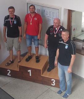Rene Klausner sicherte sich den Salzburger Meistertitel im Großkaliber-Pistolenschießen.