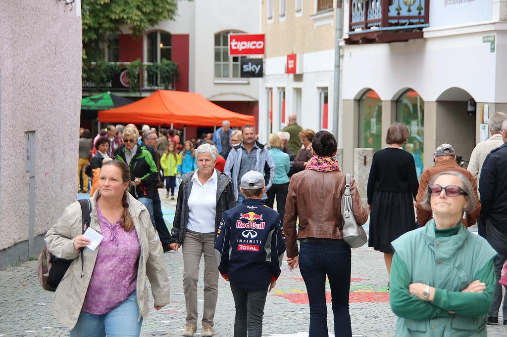 Saalfeldner Stadtmobilitatsfest Begegnung An Der Baustelle Pinzgau