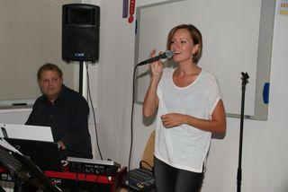 Das Duo Cocoon sorgte mit Smooth-Jazz für eine gemütliche Atmosphäre.