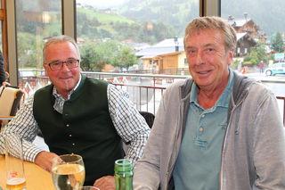 Auch der ehem. Betriebsleiter Alois Kreuzer und Heinz Prommegger (Skischule Panorama) wissen viel aus den vergangenen Seilbahnjahren zu erzählen.
