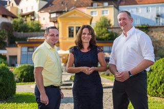 Sie wollen anpacken. Die Nationalratskandidaten der SPÖ im Bezirk Schärding. Von links: Roland Mayrhofer, Spitzenkandidatin Petra Mairinger und Roland Litzlbauer.