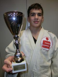 Judo-Talent Wachid Borchashvili startet am kommenden Wochenende bei der U21-EM in Marburg.